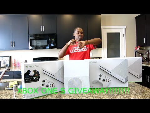 Xbox One S Giveaway Winner Announcement! Free Xbox One S