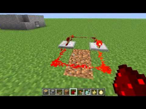 Working redstone repeater clock for minecraft 1.2.3
