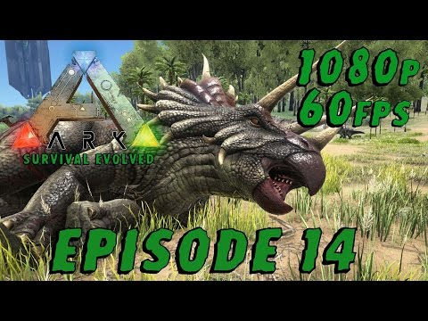 Data Plays - ARK: Survival Evolved Ep 14 - Tranq Arrows FTW! (1080p/60Fps)