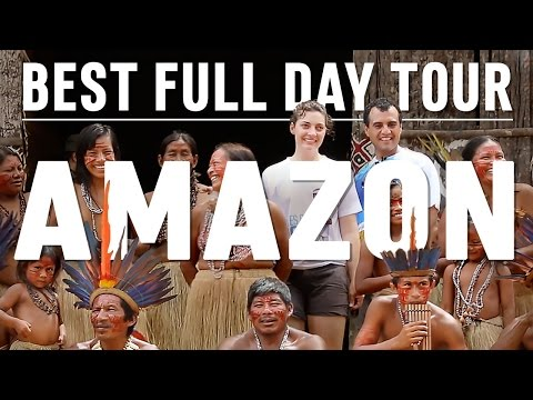BEST FULL DAY TOUR IN AMAZON