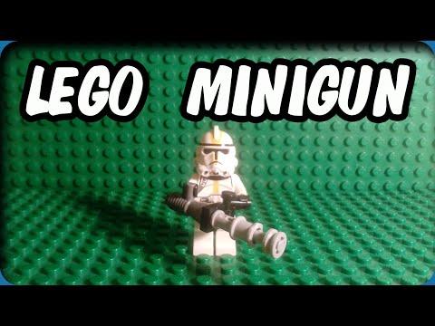 TUTORIAL| How to make a LEGO MINIGUN!!!!!!