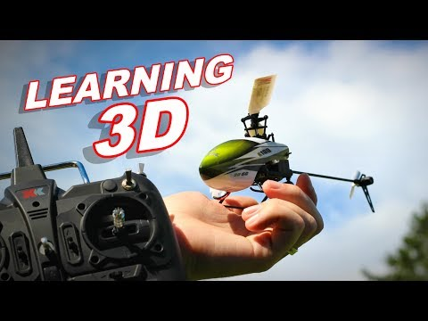 Learning Collective Pitch / Flybarless 3D RC Helicopter Flying - XK K100 6CH - TheRcSaylors
