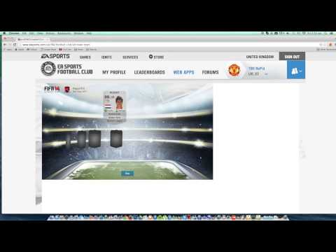FIFA 14 WEB APP - Daily Gifts - EP2
