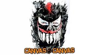 Created from Chaos Finn Balor hits the canvas: WWE Canvas 2 Canvas