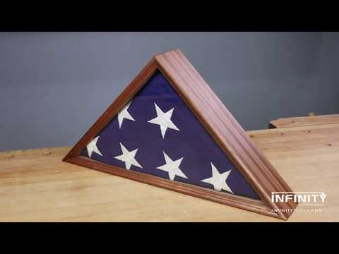 Building a Memorial Flag Case w/ Your Router & Tablesaw