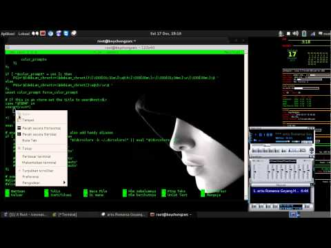 Tutorial edit bash Terminal Kali Linux