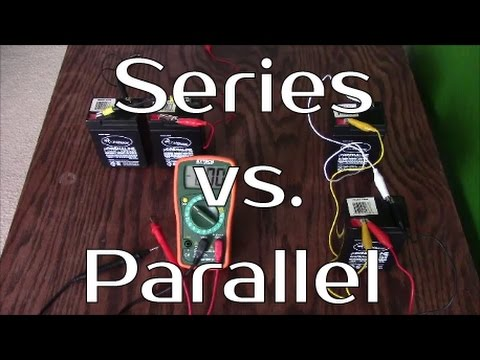 Solar Panel Systems For Beginners - Series Vs Parallel Battery Banks