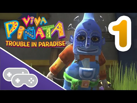 NEW GARDEN FOUR PLAYERS - Viva Piñata Trouble in Paradise Gameplay - Part 1
