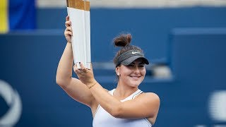 Bianca Andreescu wins Rogers Cup after Serena Williams retires from match