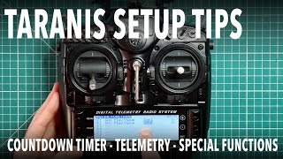 How to setup Telemetry on the Taranis OpenTX 2 1 for low