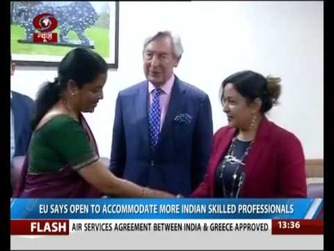 EU says open to accommodate more Indian skilled professionals