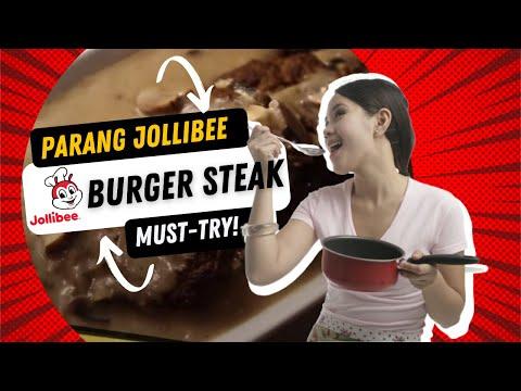 Burger Steak Jollibee Style