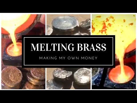 2.5+ KILO BRASS MELT - PERSONAL COIN CASTING - SCRAP BRASS
