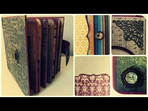 Scrapbook Album DIY #12 * Verzierung + Review