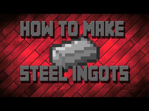 How To Make Steel Ingots Modded Minecraft Mekanism (Minecraft Tutorials)