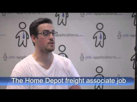 The Home Depot  Interview - Freight Associate