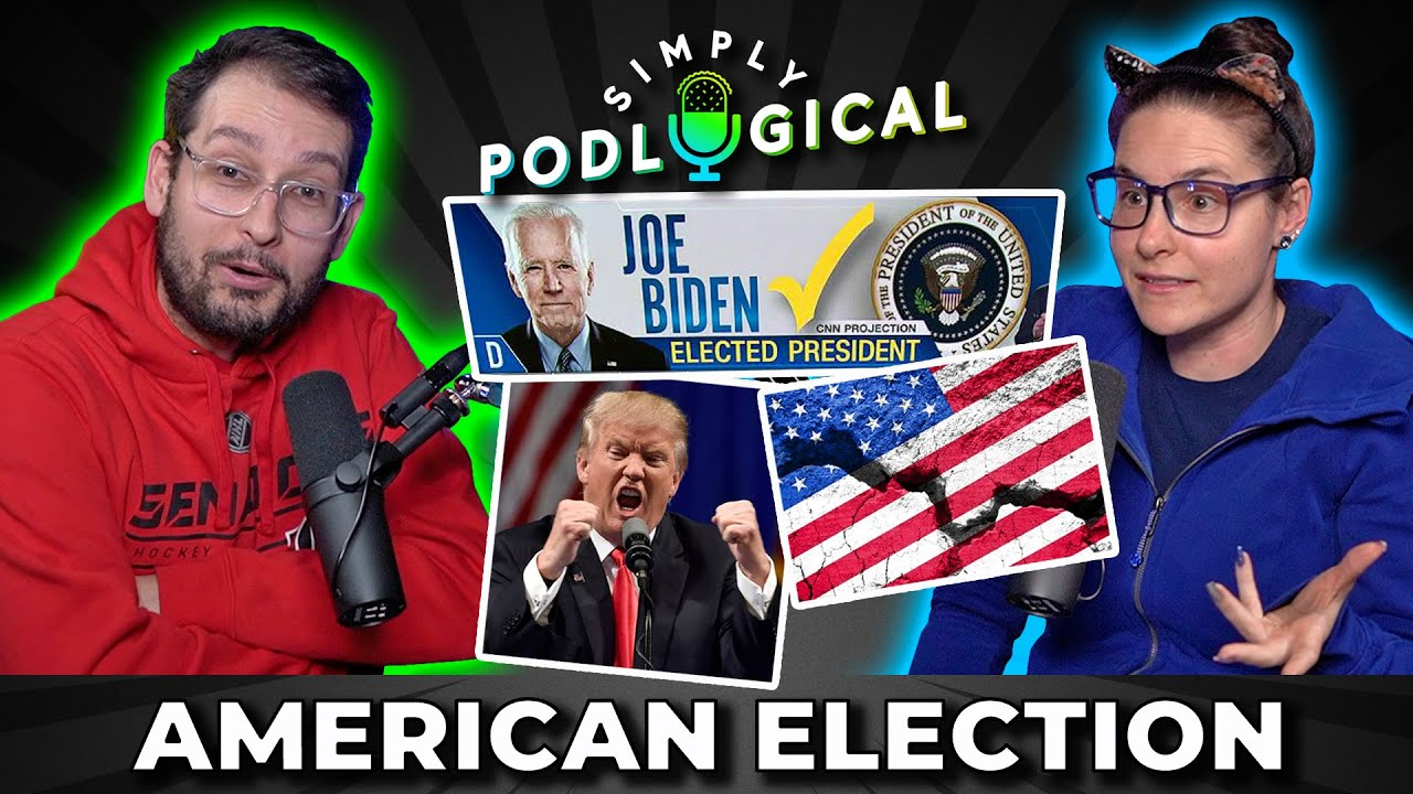 Canadians React to the US Election - SimplyPodLogical #36