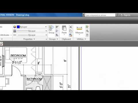 Autocad - Insert an Image (Jpeg) into AutoCAD - Part 1 #47