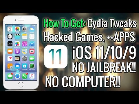 How To Get Awesome Cydia Tweaks FREE iOS 11/10/9 (NO JAILBREAK) iPhone, iPad, iPod