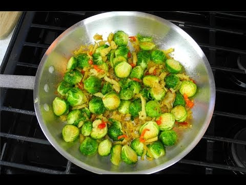 The Best Brussel Sprouts Recipe Ever  - A Caribbean Twist!