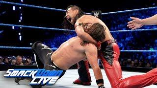 AJ Styles vs. Shinsuke Nakamura - Winner Picks Title Match Stipulation: SmackDown LIVE, May 15, 2018