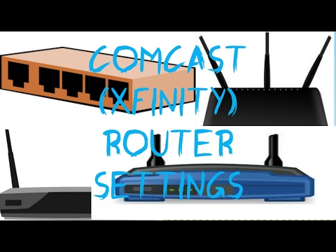 Change Your Comcast/Xfinity Router Settings (EASY!)