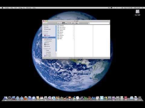 Menu Bar on Mac OSX