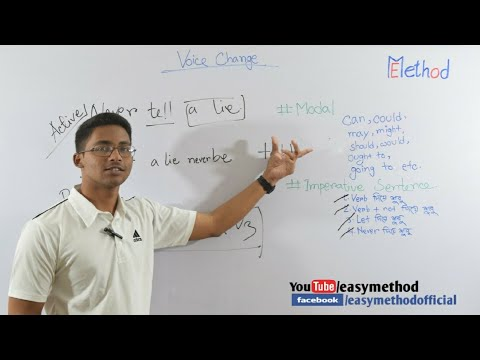 Changing Voice| Part-2|English-2|Class 11-12