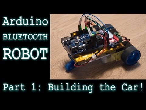 Making a DIY Arduino RC Robot Car - Part 1: Selecting Parts and Building the Robot - Ec-Projects