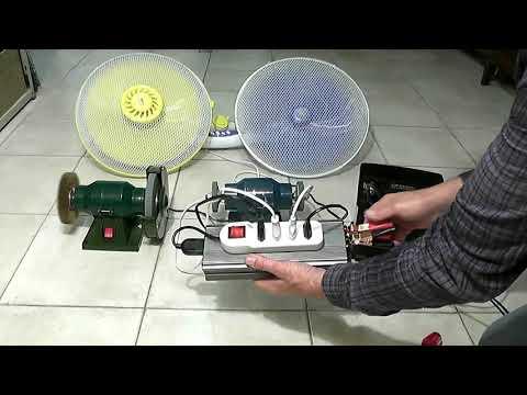 Inverter 12V 220V modified power supply system
