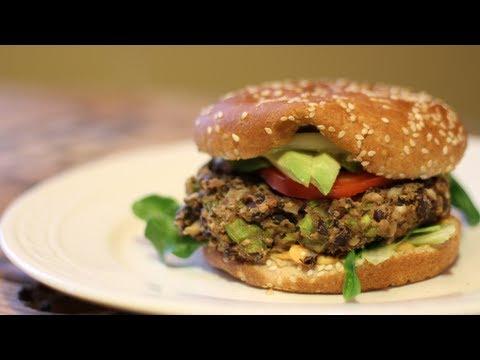 How to Make a Black Bean Burger