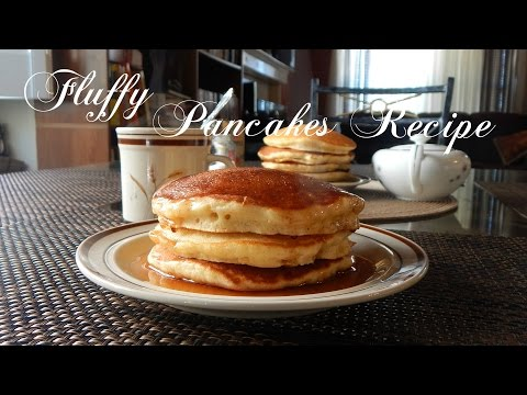 Fluffy Pancakes Recipe | The Sweetest Journey