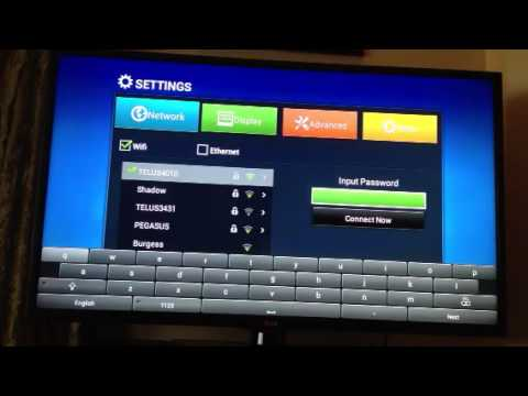 XBMC Android TV Box - WIFI Setup - xbmcxstream.com
