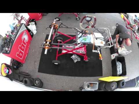 Peter De Bruijn building a 2016 Gillard TG15 Kart Chassis Time Lapse