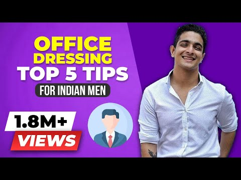 Formal Clothing / Office Dressing Tutorial for Men - Top 5 tips | BeerBiceps Men's Fashion