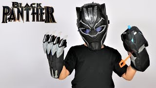 How To Become Black Panther Marvel Toys Unboxing Fun With Ckn Toys