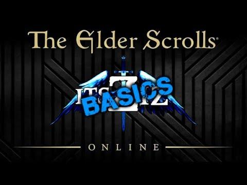 The Elder Scrolls Online Basics - Weapons & Armor
