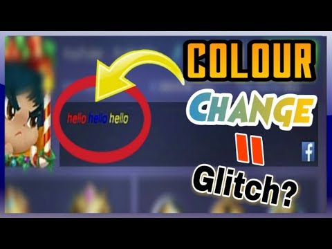 Mobile Legends : Trick How To Make Colored  Nickname | Tips & Tricks