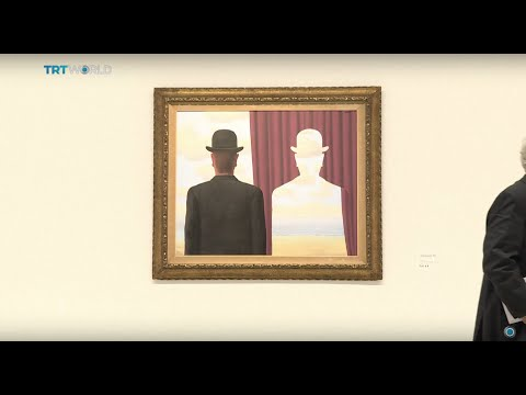 Showcase: Rene Magritte exhibition in Paris