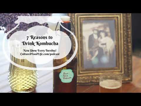 Podcast Episode 11: 7 Reasons to Drink Kombucha