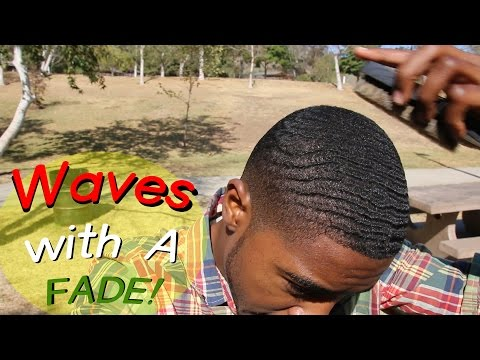 How to get Waves with a Bald Fade - 360WaveProcess Half Scalp