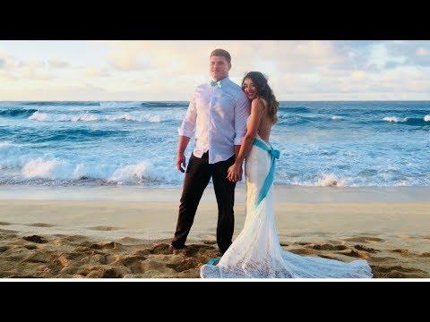 Married at 18!?! || HAWAII BEACH WEDDING