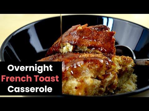 Simple Overnight French Toast Casserole