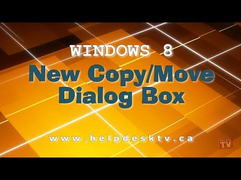 The New Copy/Move Dialog Box In Windows 8