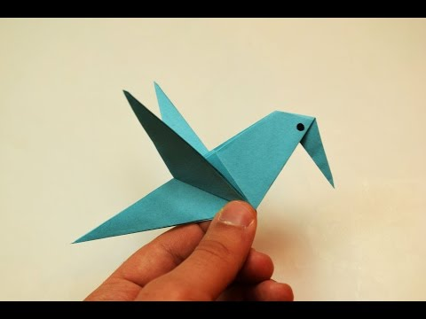How to make a paper Bird?