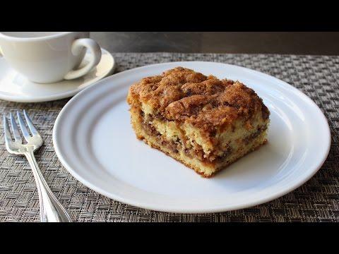 Pecan Sour Cream Coffee Cake Recipe - How to Make a Crumb Cake