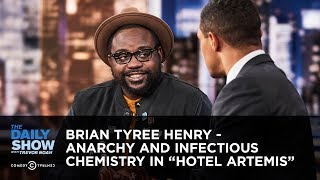 """Brian Tyree Henry - Anarchy and Infectious Chemistry in """"Hotel Artemis"""" 
