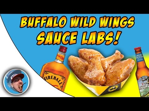 Buffalo Wild Wings Sauce Labs! - Fiery Apple!