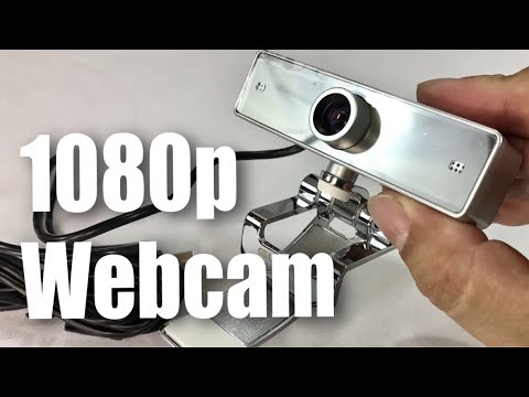 $30 2MP 1080p Full HD 110 Degree Wide Angle iRush Gucee HD92 Webcam Camera review and test