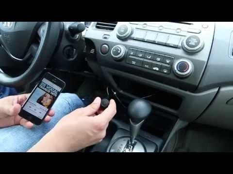 Honda Civic 2006-2011 Bluetooth Extension installation by GTA Car Kits